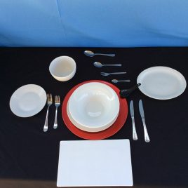 Crockery – Table