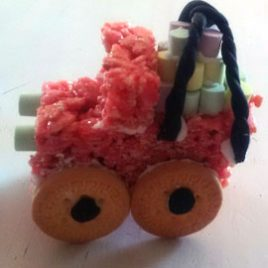 Rice Crispie Treat Modelling