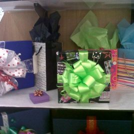 Bows, Boxes, Bags, Wrap and Tissue Paper