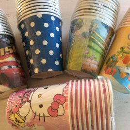 Cups Plain and Themed