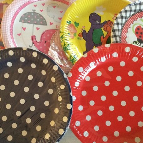 Plates Plain and Themed