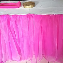 Table Draped