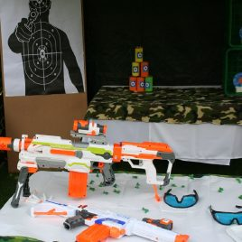 Nerf Gun Party Activity