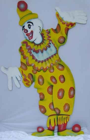 Cutout Clown XL