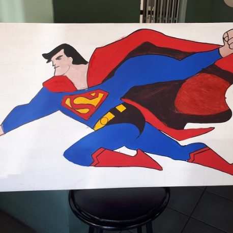 Cutout Superman