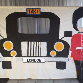 Cut Out London Taxi