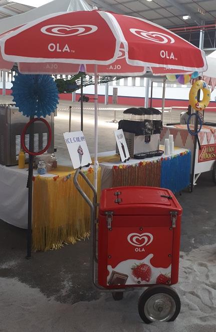 Ola Ice Cream Cart