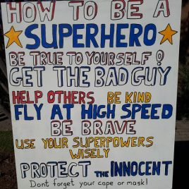 Sign How To Be a Superhero