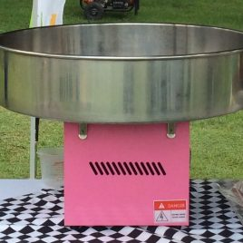 Candy Floss machine with 50 Servings