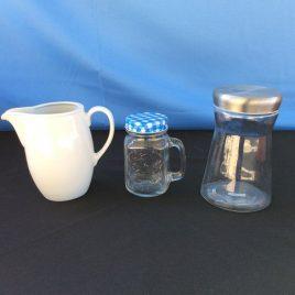 Milk Jug and Sugar Jar