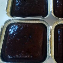 Malva Pudding Chocolate and Custard