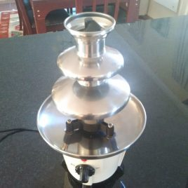 Chocolate Fountain Small with 25 servings