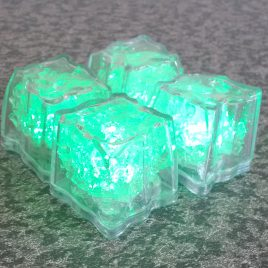 Submersible ice cubes (not suitable to freeze)