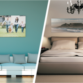 Mounted Stretch Canvas Prints