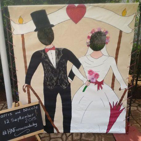 Photo Canvas Wedding