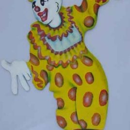 Cut Out Clown extra large including stand